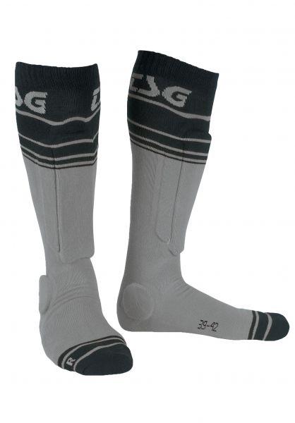 TSG Socken Riot grey-striped vorderansicht 0630683