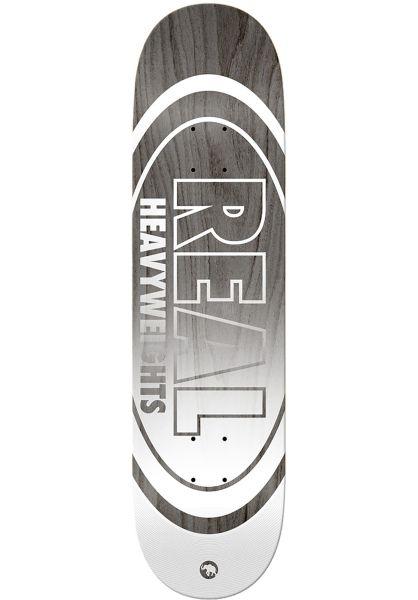 Real Skateboard Decks Team Heavyweights grey vorderansicht 0261564
