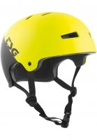 TSG Helme Evolution Graphic Designs divided acid yellow-black Vorderansicht