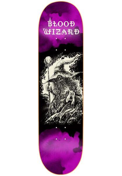 Blood Wizard Skateboard Decks The Occült Series wizard vorderansicht 0263597