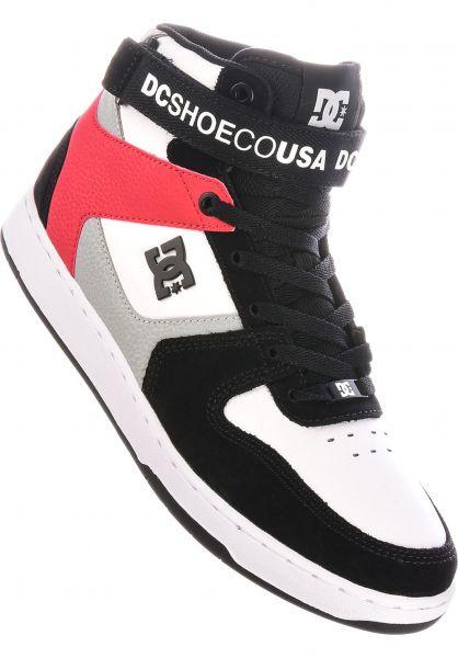 DC Shoes Alle Schuhe Pensford black-grey-red vorderansicht 0604946