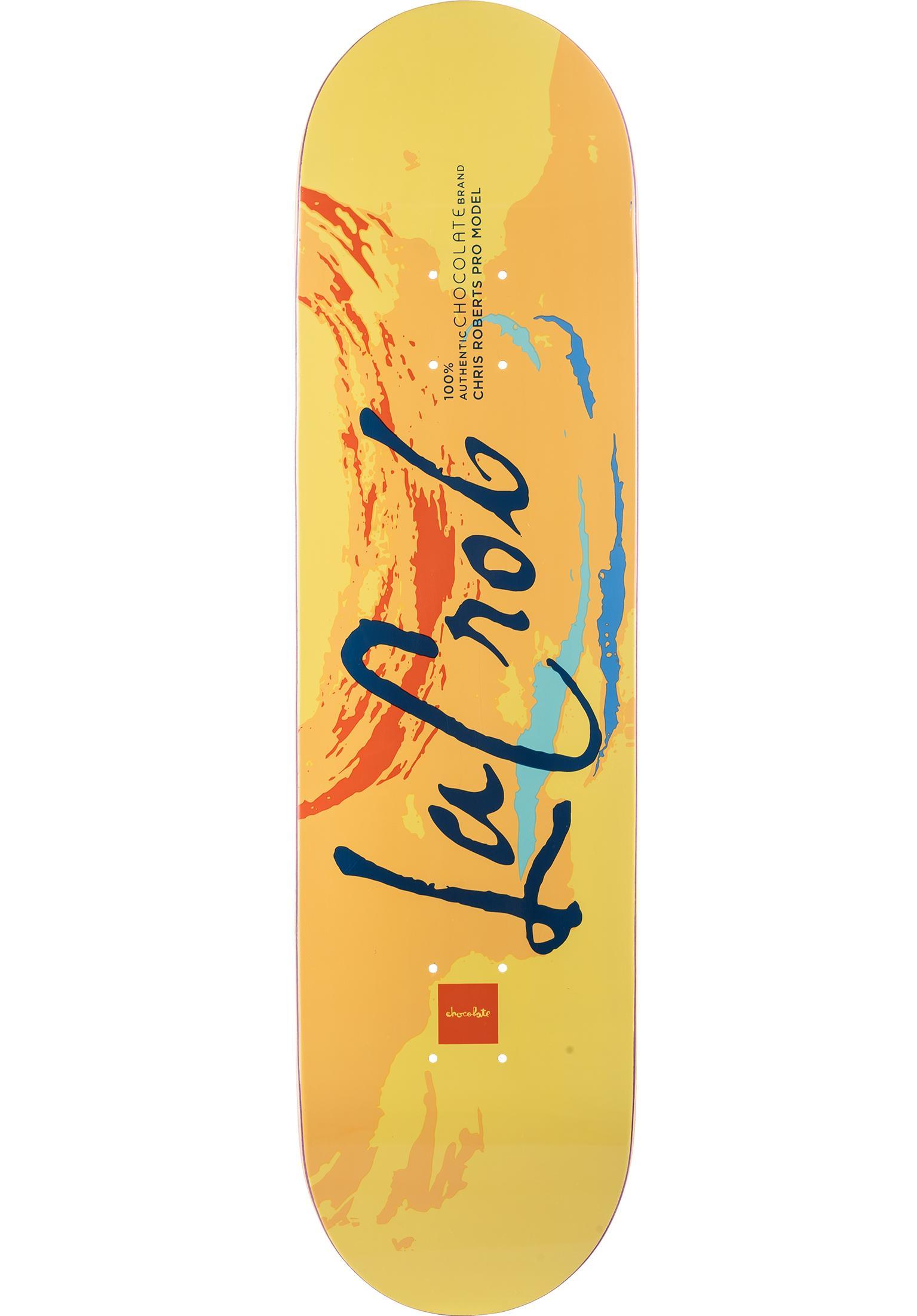 Roberts Lacrob Flavor Chocolate Skateboard Decks in yellow  823bd977e3c
