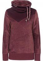 Ragwear Sweatshirts und Pullover Viola Velvet darkchoco Vorderansicht
