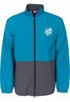 Santa-Cruz Übergangsjacken Gamma Jacket capriblue-charcoal Vorderansicht