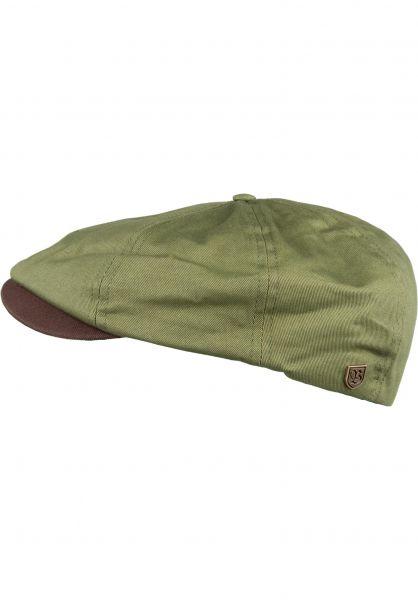 Brixton Hüte Brood lightolive-brown Vorderansicht