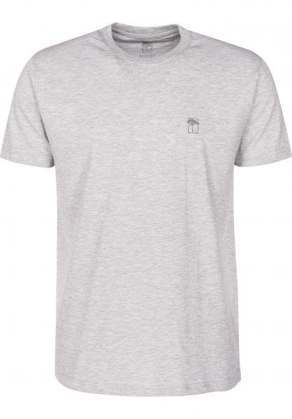 Mahagony T-Shirts Small T.O.L grey vorderansicht 0399468