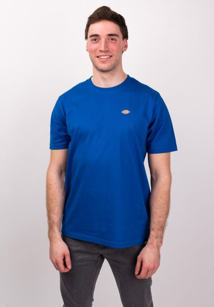 Dickies T-Shirts Stockdale royalblue vorderansicht 0397354