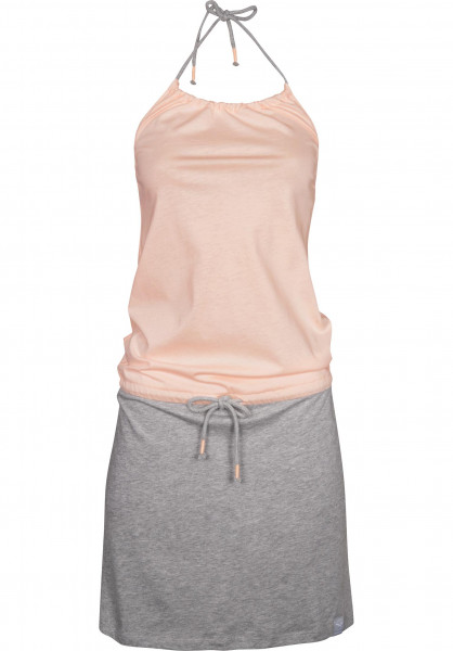 iriedaily Kleider 2Tone rosa Vorderansicht