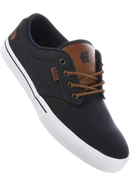 etnies Alle Schuhe Jameson 2 Eco navy-tan-white Vorderansicht