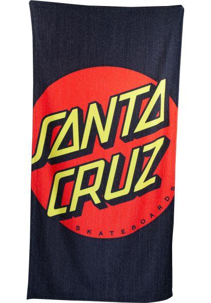 Santa-Cruz Verschiedenes Crop Dot Beach Towel multi vorderansicht 0972705
