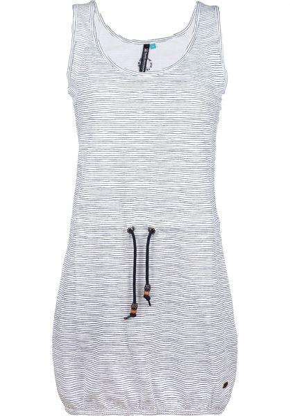 alife-&-kickin Kleider Nora cloudy-stripes Vorderansicht