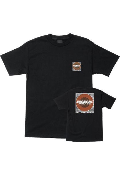 Bronson Speed Co. T-Shirts Next Generation black vorderansicht 0399333