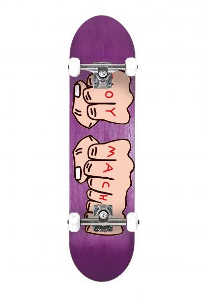 Toy-Machine Skateboard komplett Fists Mini natural vorderansicht 0161172