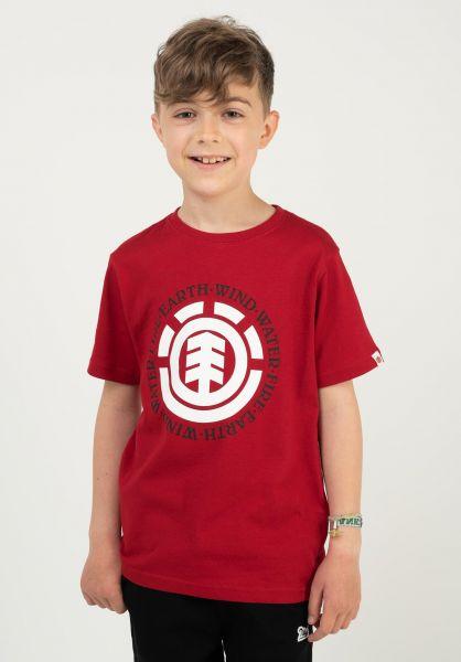 Element T-Shirts Seal Kids chilipepper vorderansicht 0397954