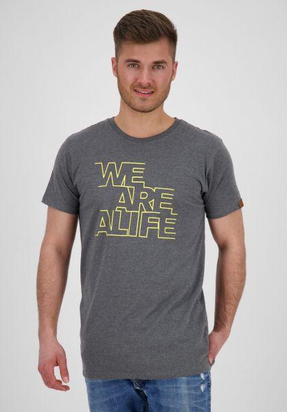 alife and kickin T-Shirts Logo stone vorderansicht 0371807