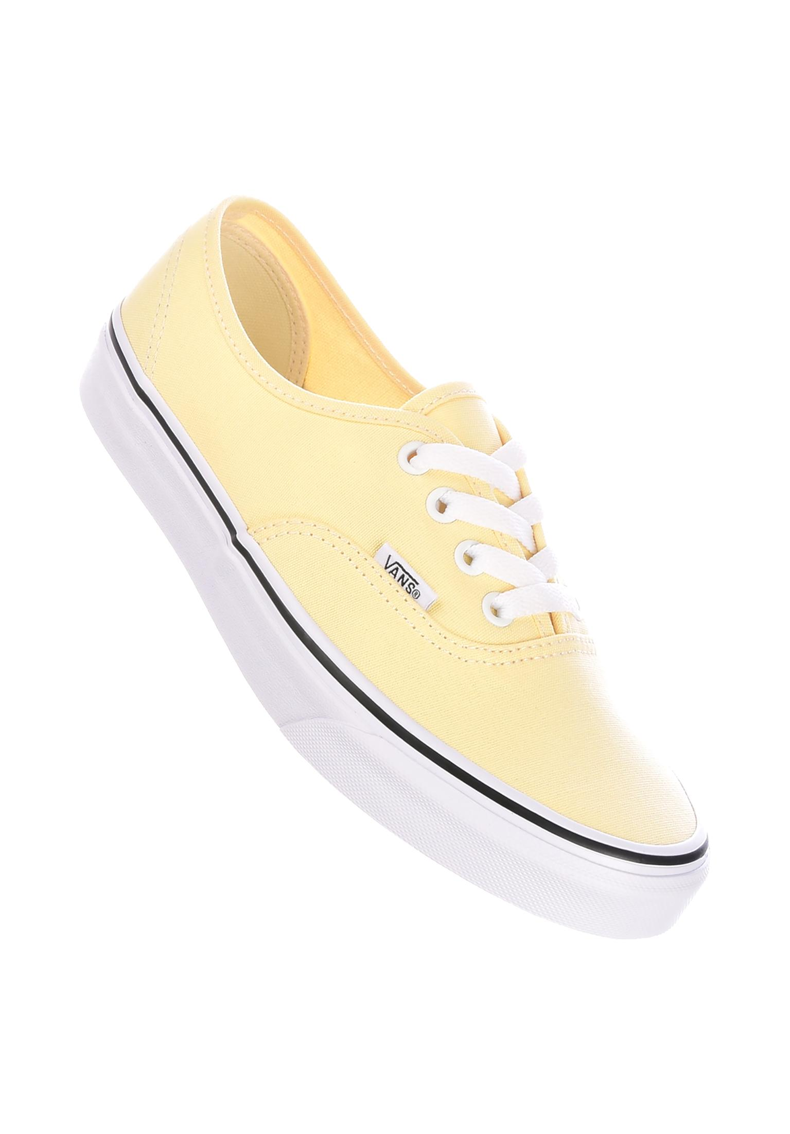 d197785e4479d5 Authentic Classic Vans All Shoes in vanillacustard-truewhite for Women