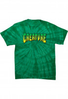 Creature T-Shirts Logo spider-kelly Vorderansicht