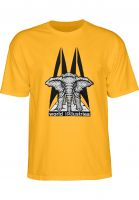 Prime T-Shirts Mike Vallely Elephant On The Edge gold Vorderansicht