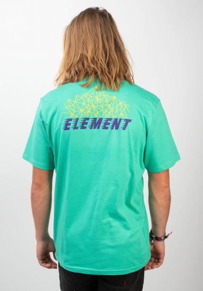 Element T-Shirts System mint vorderansicht 0320488