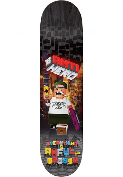 Anti-Hero Skateboard Decks Grosso Everything is Ahful multicolor vorderansicht 0261570