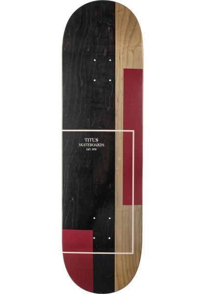 TITUS Skateboard Decks Split rose-pink vorderansicht 0261388