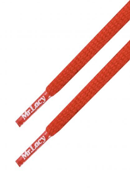 Mr. Lacy Schnürsenkel Runnies Hydrophobic red vorderansicht 0640034