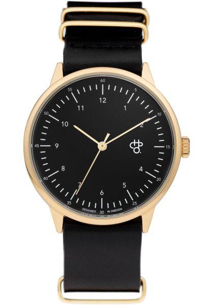 CHPO Uhren Harold Gold gold-black vorderansicht 0810392