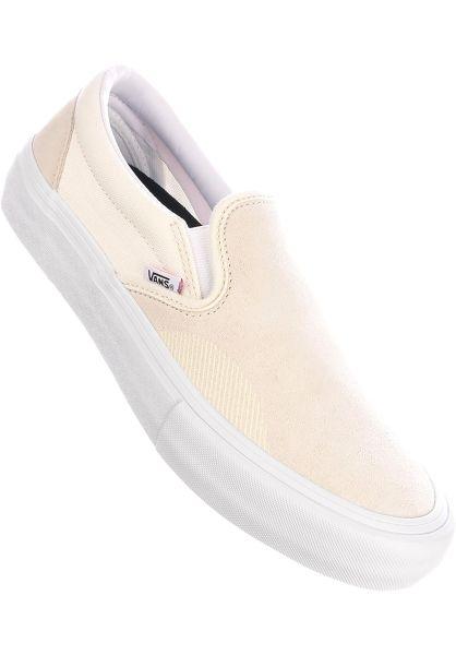 Vans Alle Schuhe Slip-On Pro marshmallow vorderansicht 0603931