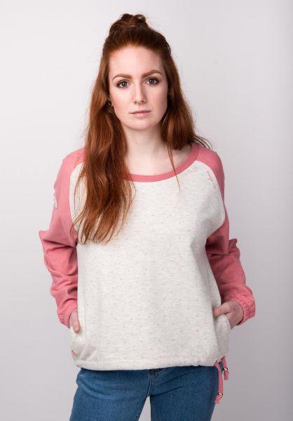 Mazine Sweatshirts und Pullover Tacoma mauvemelange-dots vorderansicht 0422612