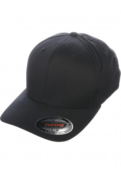 Flexfit Caps Original black Vorderansicht