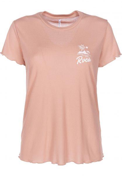 RVCA T-Shirts Mai Tai Rib nude vorderansicht 0398943