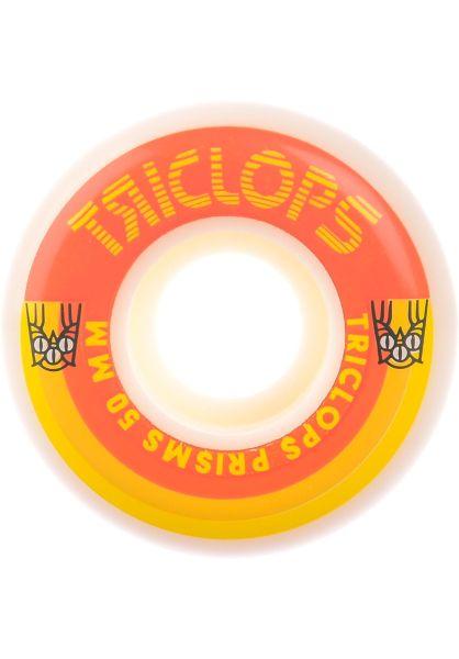 Triclops Rollen Prisms 99A white vorderansicht 0134956