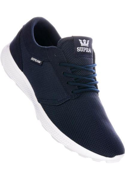 Supra Alle Schuhe Hammer Run navy-white vorderansicht 0603575