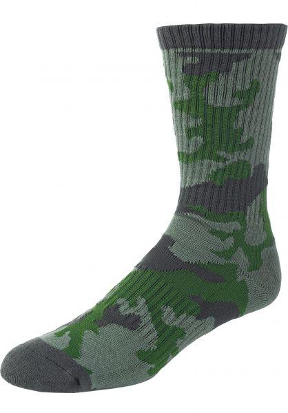 Volcom Socken Vibes Socks army vorderansicht 0632124