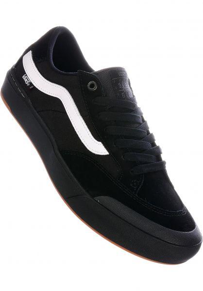 Vans Alle Schuhe Berle Pro black-black-white vorderansicht 0604561