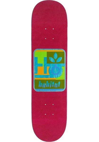 Habitat Skateboard Decks Mod Pod red vorderansicht 0226233