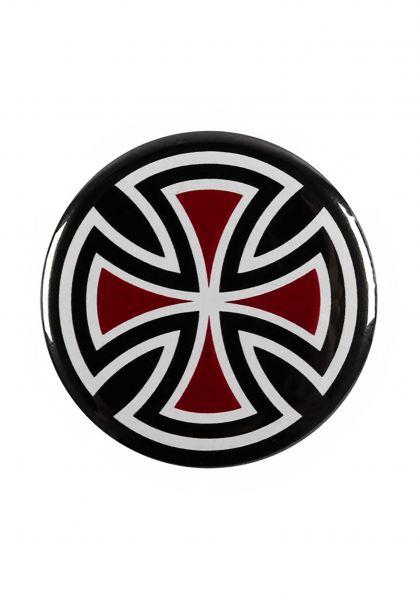 Independent Verschiedenes Cross Pin black-red Vorderansicht