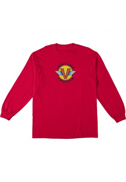 Venture Longsleeves Wings red vorderansicht 0383938