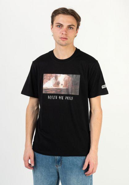 Element T-Shirts x Star Wars Quest flintblack vorderansicht 0322965