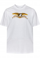 Anti-Hero T-Shirts Eagle white Vorderansicht