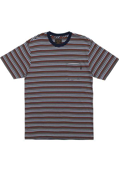 Dark Seas T-Shirts Jet Point navy vorderansicht 0399039