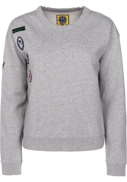RVCA Sweatshirts und Pullover Grillo Patch greymarle Vorderansicht