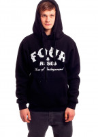Fourasses-Hoodies-Home-black-Vorderansicht