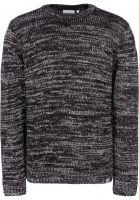 Carhartt WIP Strickpullover Morris black-blacksmith-greyheather vorderansicht 0141558