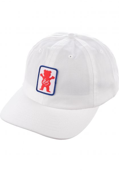 ES Caps Dueuce Hat x Grizzly white Vorderansicht