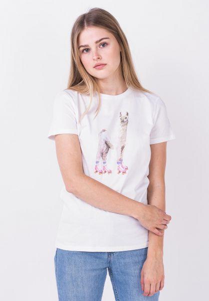 iriedaily T-Shirts Rolama white vorderansicht 0322267