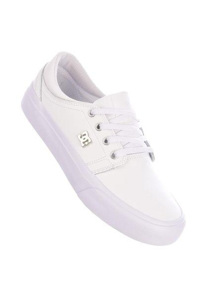 DC Shoes Alle Schuhe Trase SE white-silver vorderansicht 0612372