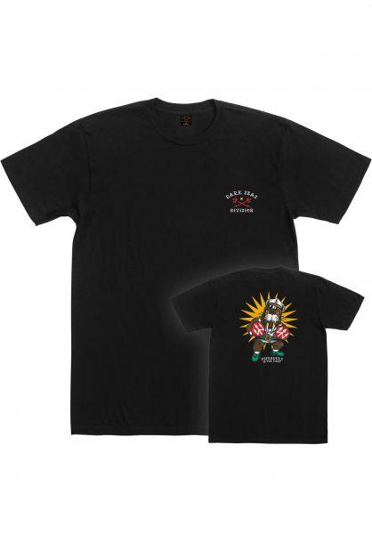 Dark Seas T-Shirts Defender black vorderansicht 0321902