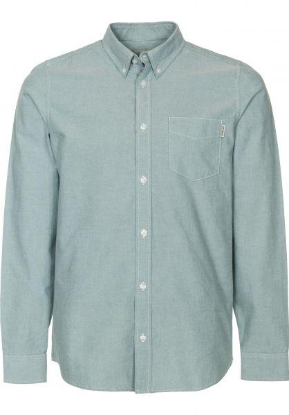 Carhartt WIP Hemden langarm Button Down Pocket mojito Vorderansicht