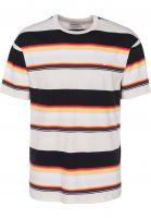 Carhartt WIP T-Shirts Sunder sunderstripe-wax-white Vorderansicht